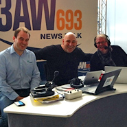 RADIO INTERVIEW: Peter Watson of Laser Group on 3AW's Big House