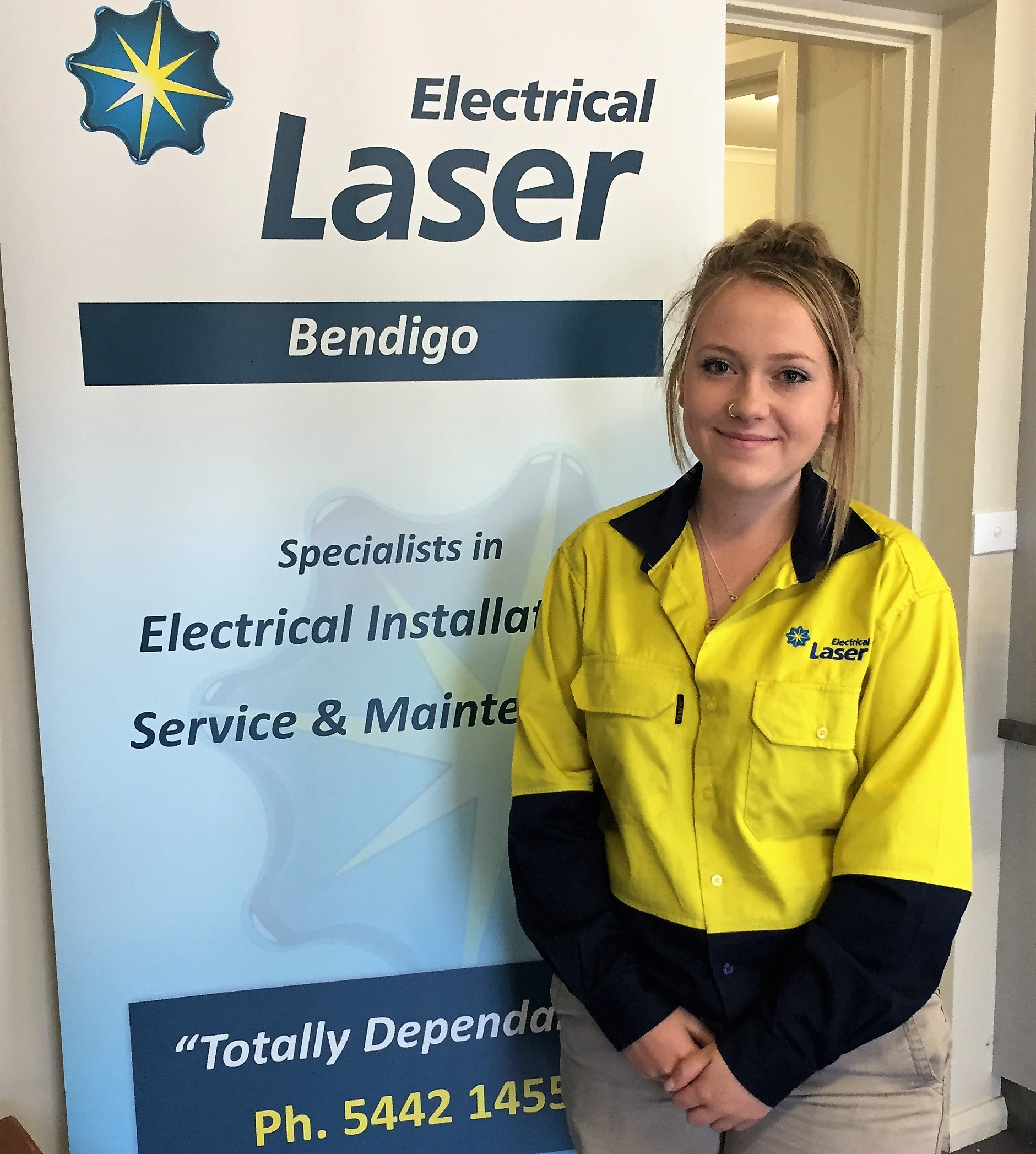 Laser tradies being bold for change