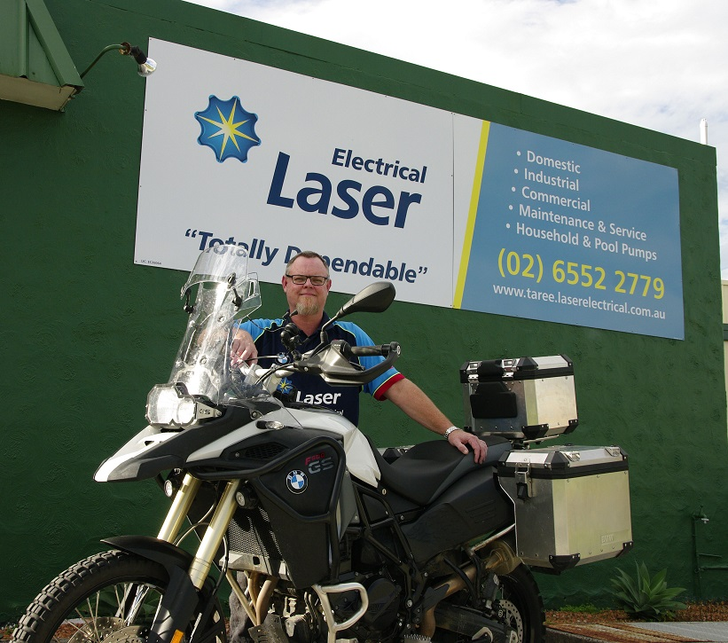 Local tradie takes to the road for mental health