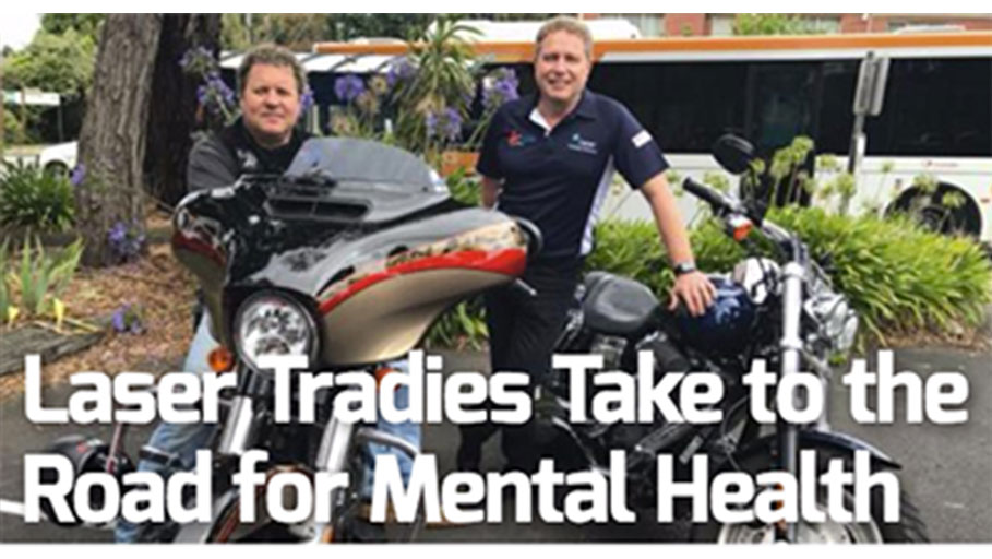 Laser Tradies Take to the Road for Mental Health