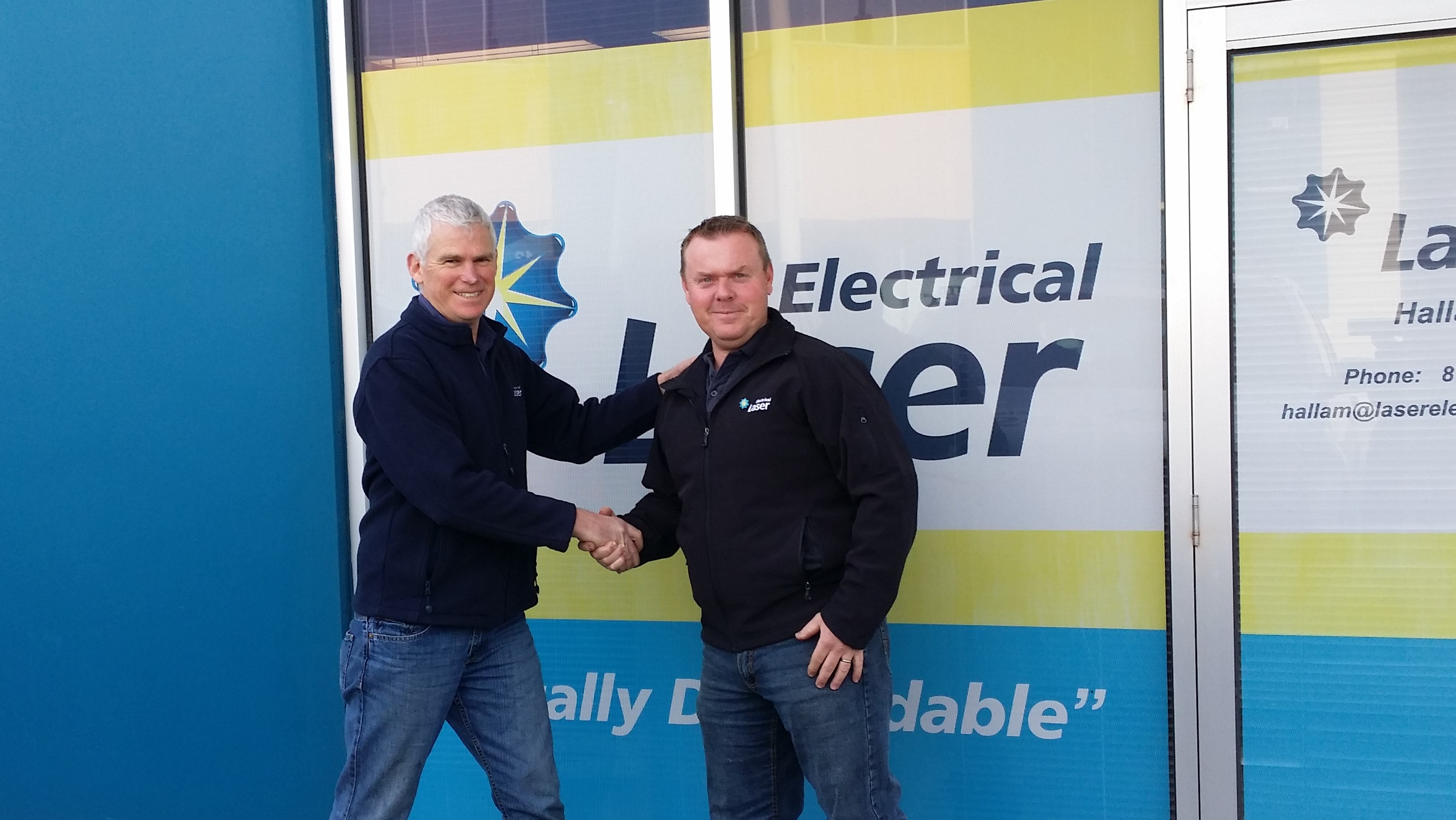 New Owners for Laser Electrical Hallam