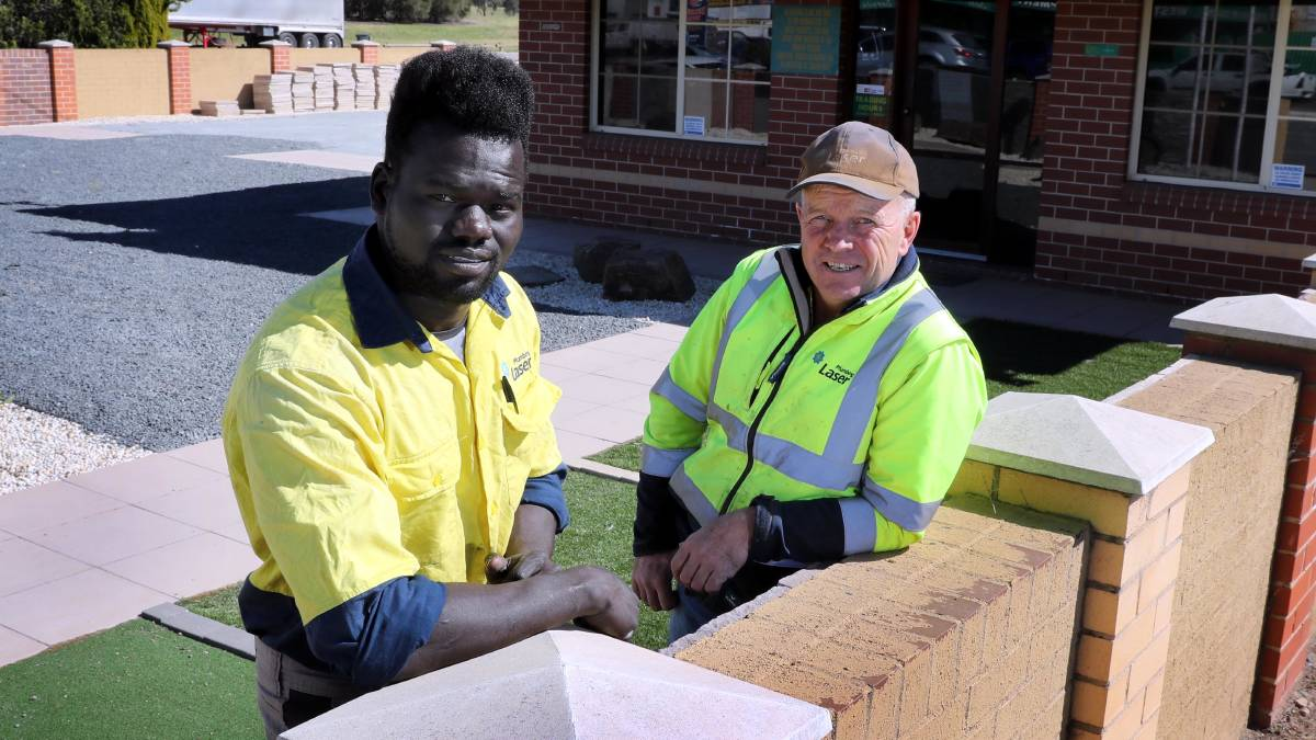 From refugee to plumber with a purpose: Wagga's Juma Abbas leads the way