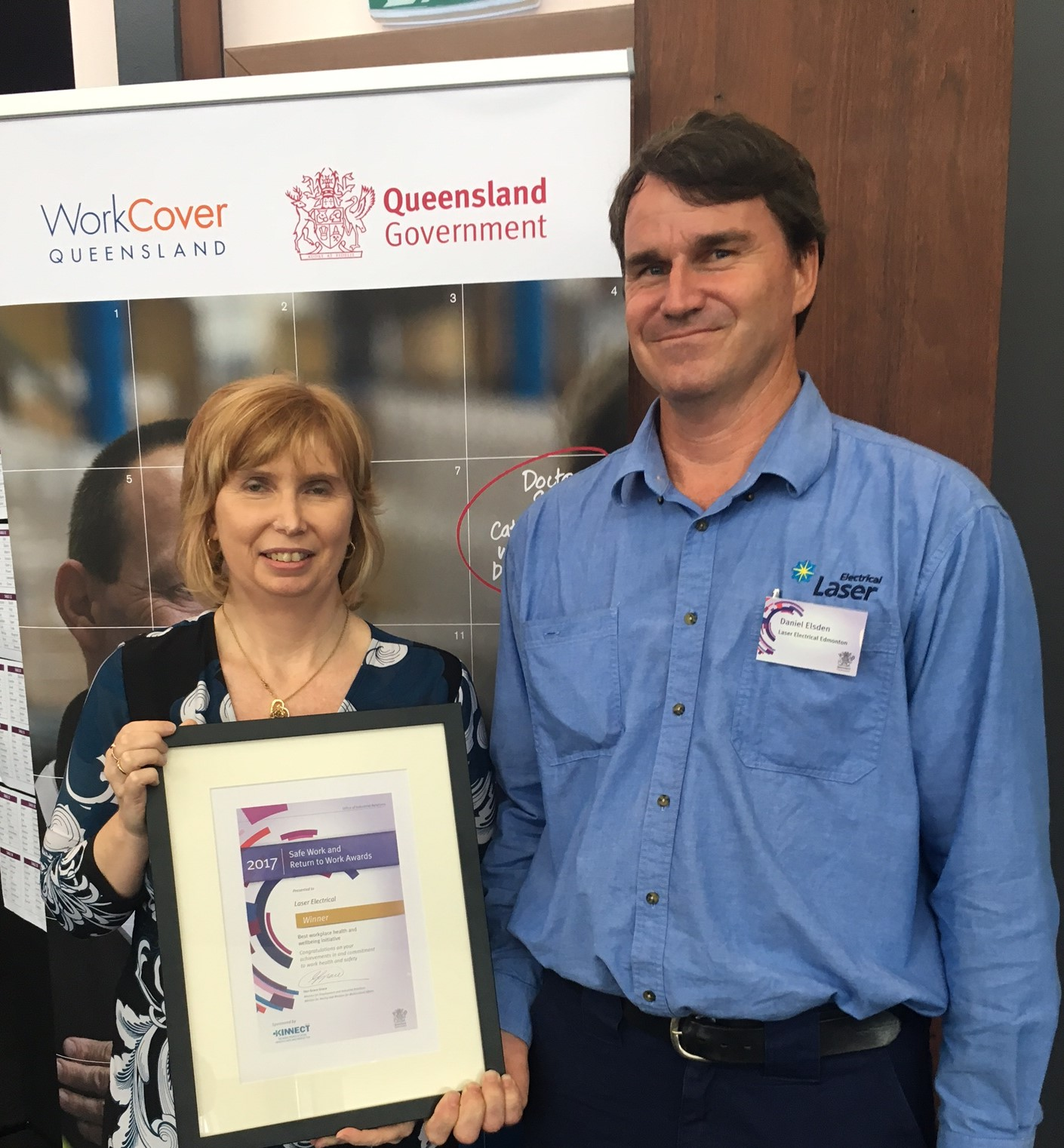 Queensland Safe Work and Return to Work champions recognised