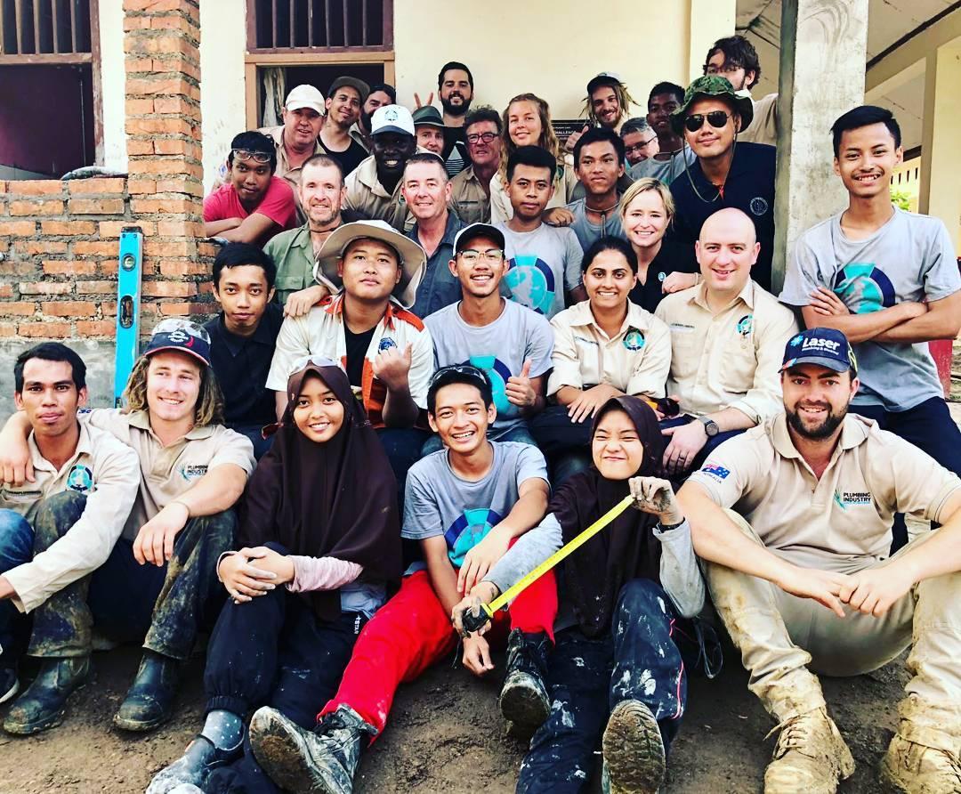 Laser Plumber Returns to Indonesia