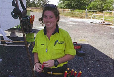 Kelly Leads the Charge for Women in Trades