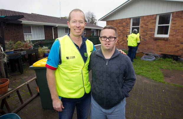 Plumbers and Electricians hold working bee for Rotorua's St Chads