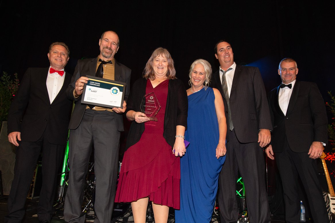 SA Business awarded Electrical Business of the Year at LaserCon 2018