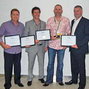 Peter Bassett Laser International Business of the Year 2011